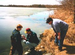 water study - lake